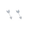 EF Collection Mini Arrow Studs - Earrings - Broken English Jewelry