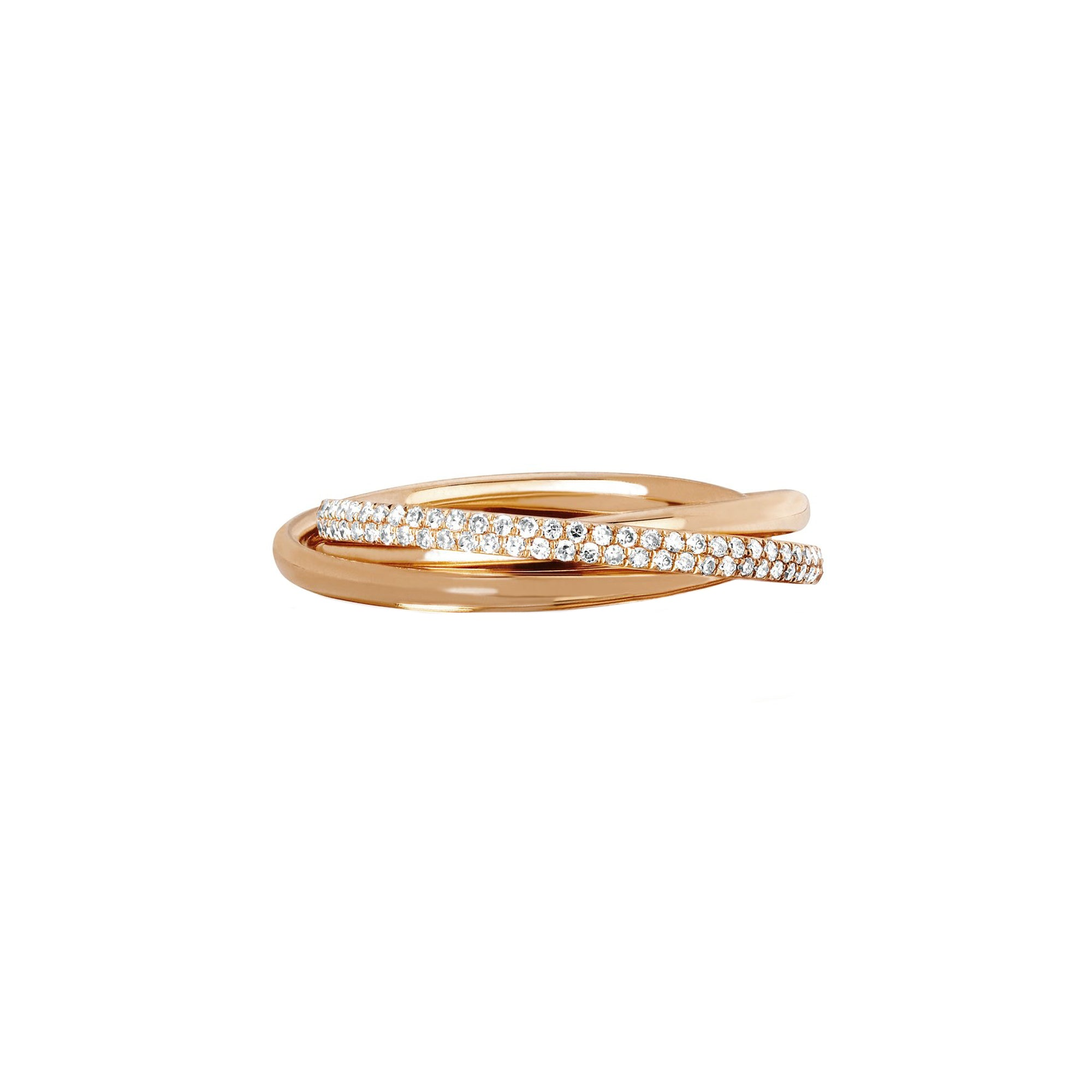 EF Collection Jumbo Triple Eternity Ring - Rings - Broken English Jewelry