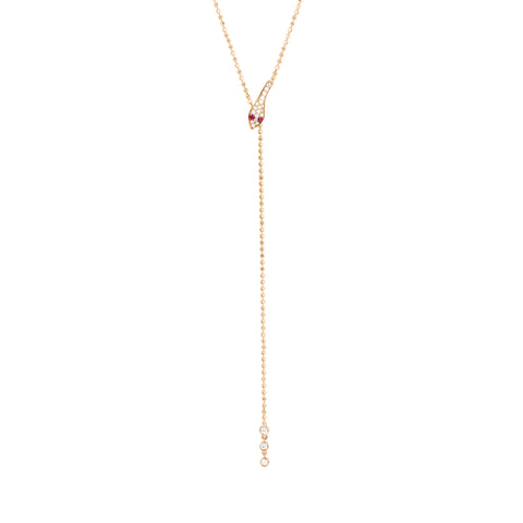 Diamond Snake Lariat