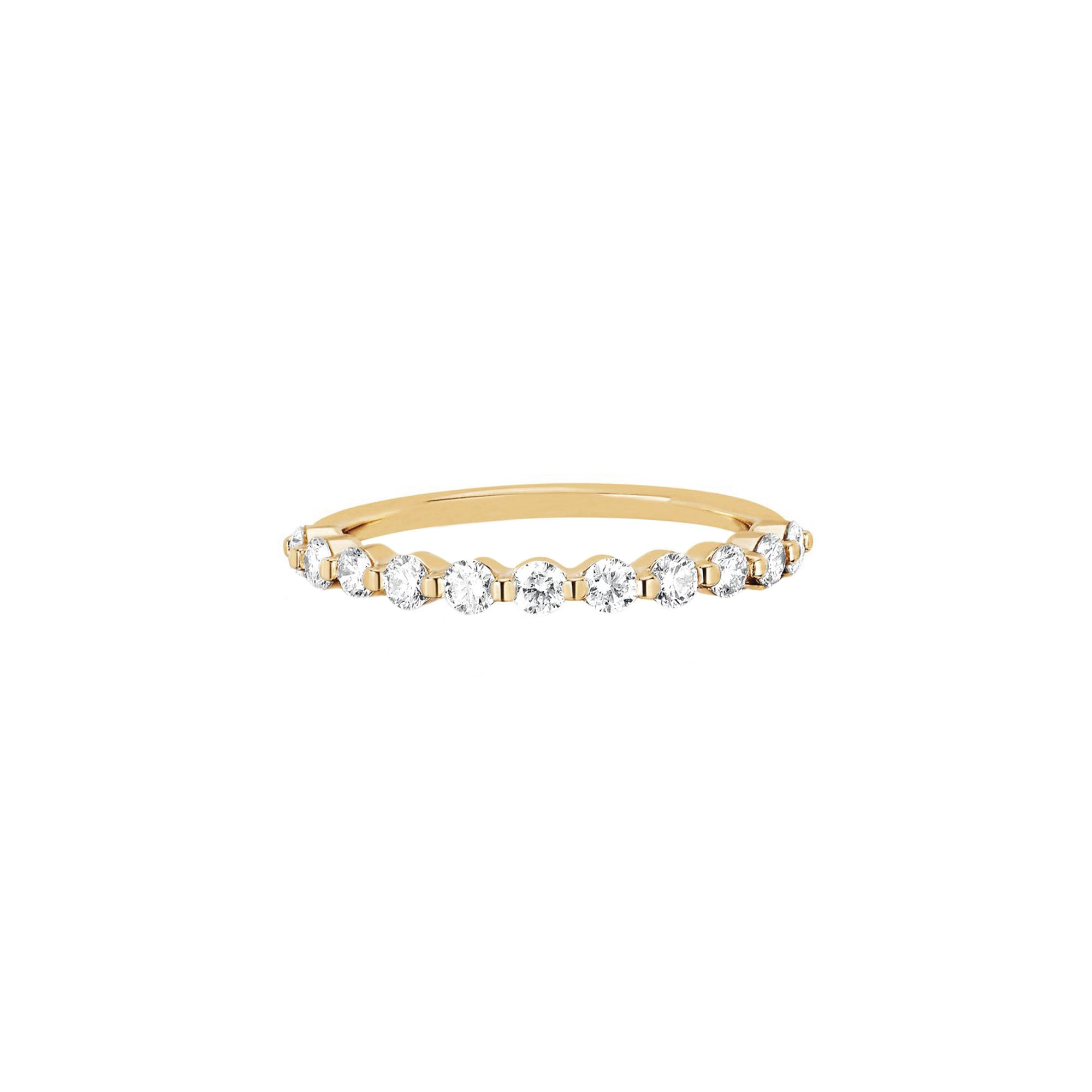 EF Collection Prong Set Diamond Ring - Rings - Broken English Jewelry