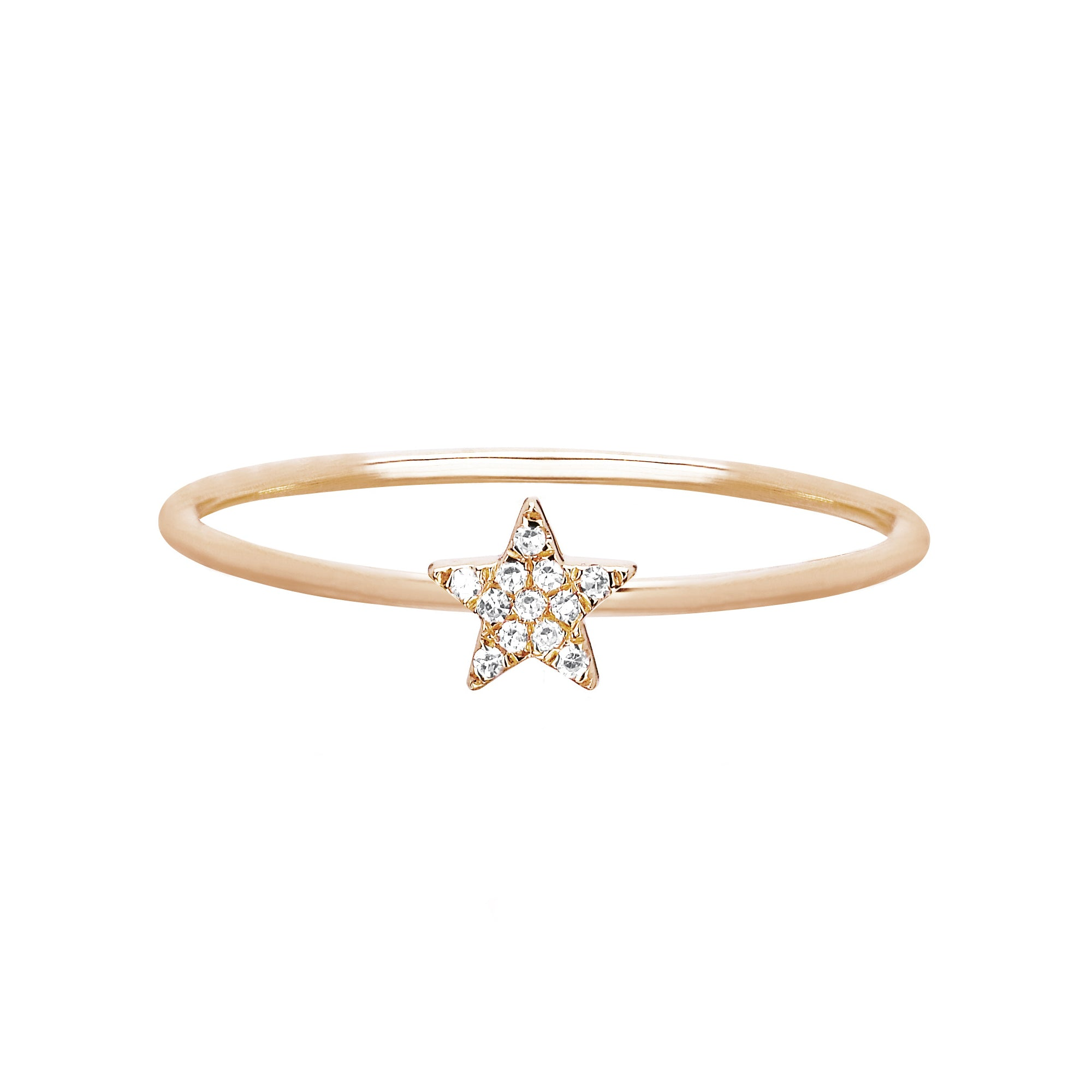 Mini Star Stacking Ring by EF Collection for Broken English Jewelry