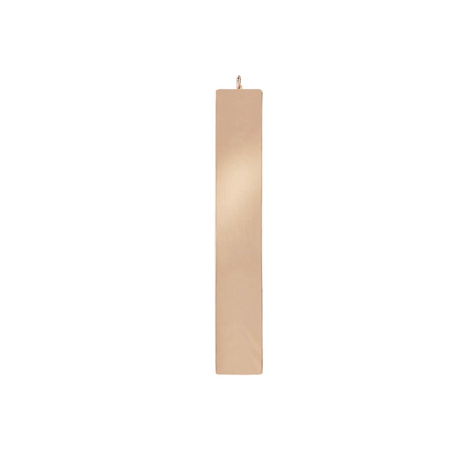 Gold Bar Pendant by EF Collection for Broken English Jewelry