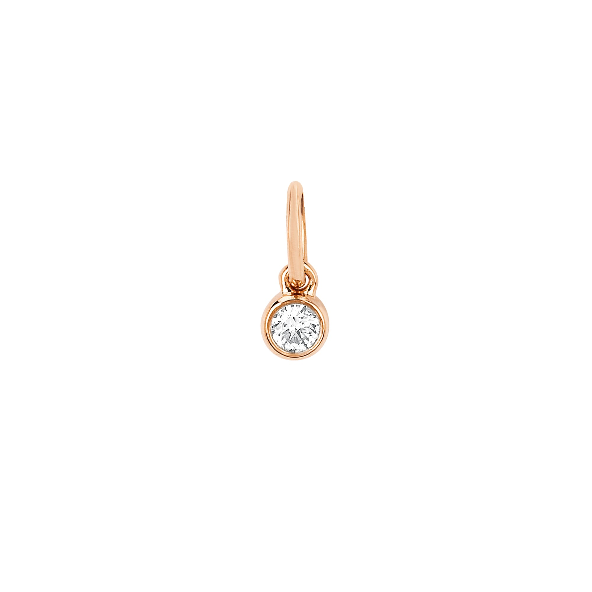 Diamond Bezel Pendant by EF Collection for Broken English Jewelry
