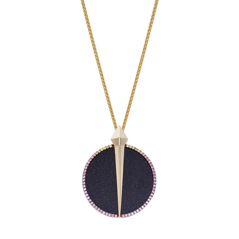 Night Lustre Pendant by Ele Karela for Broken English Jewelry