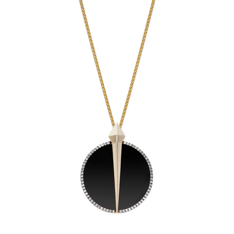 Diamond Night Lustre Pendant by Ele Karela for Broken English Jewelry