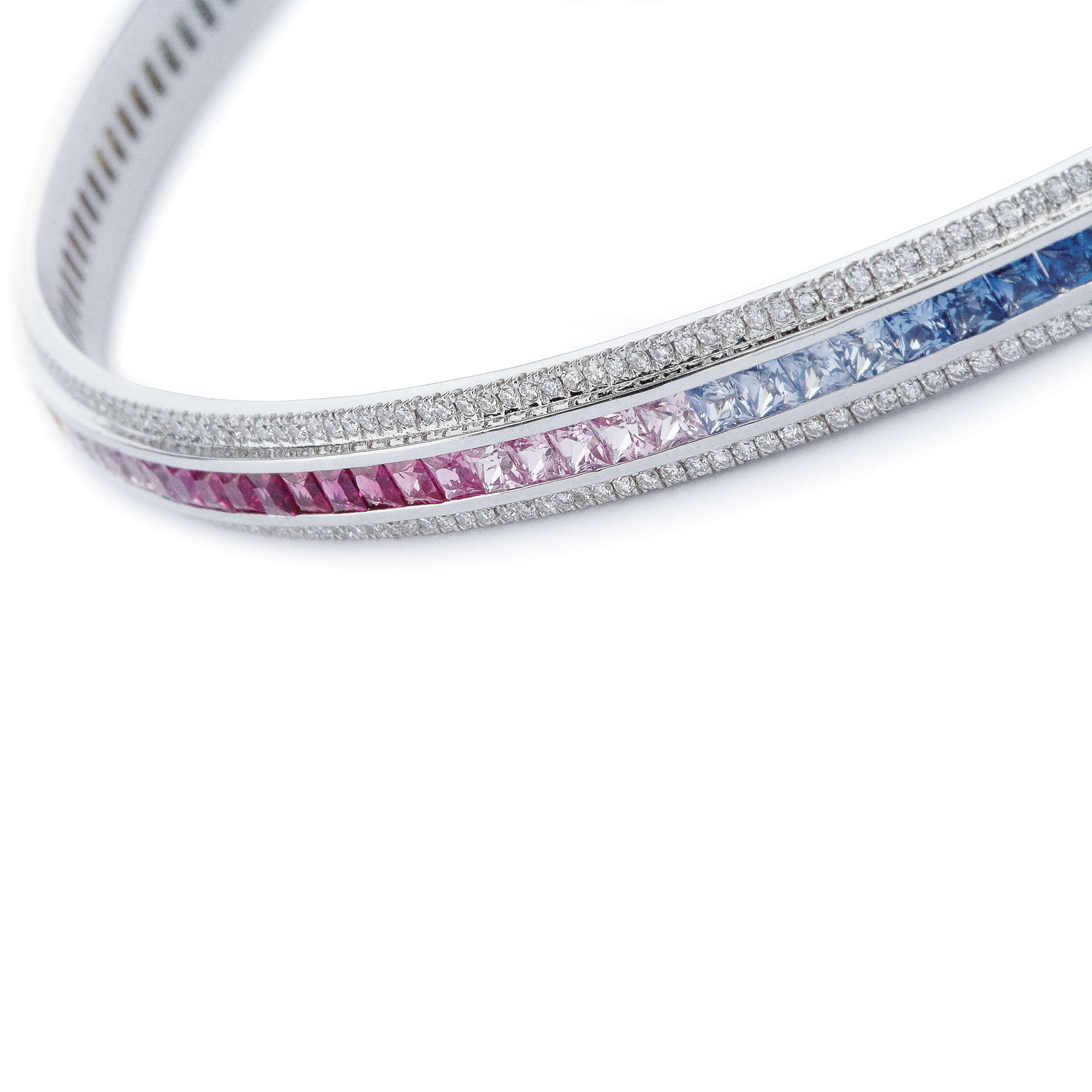Crescent Rainbow Choker by Ele Karela for Broken English Jewelry