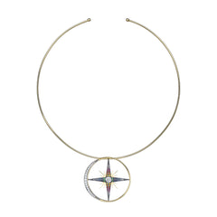 Luna Necklace by Ele Karela for Broken English Jewelry