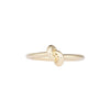 Yellow Slim Knot Ring - Engelbert - Rings | Broken English Jewelry