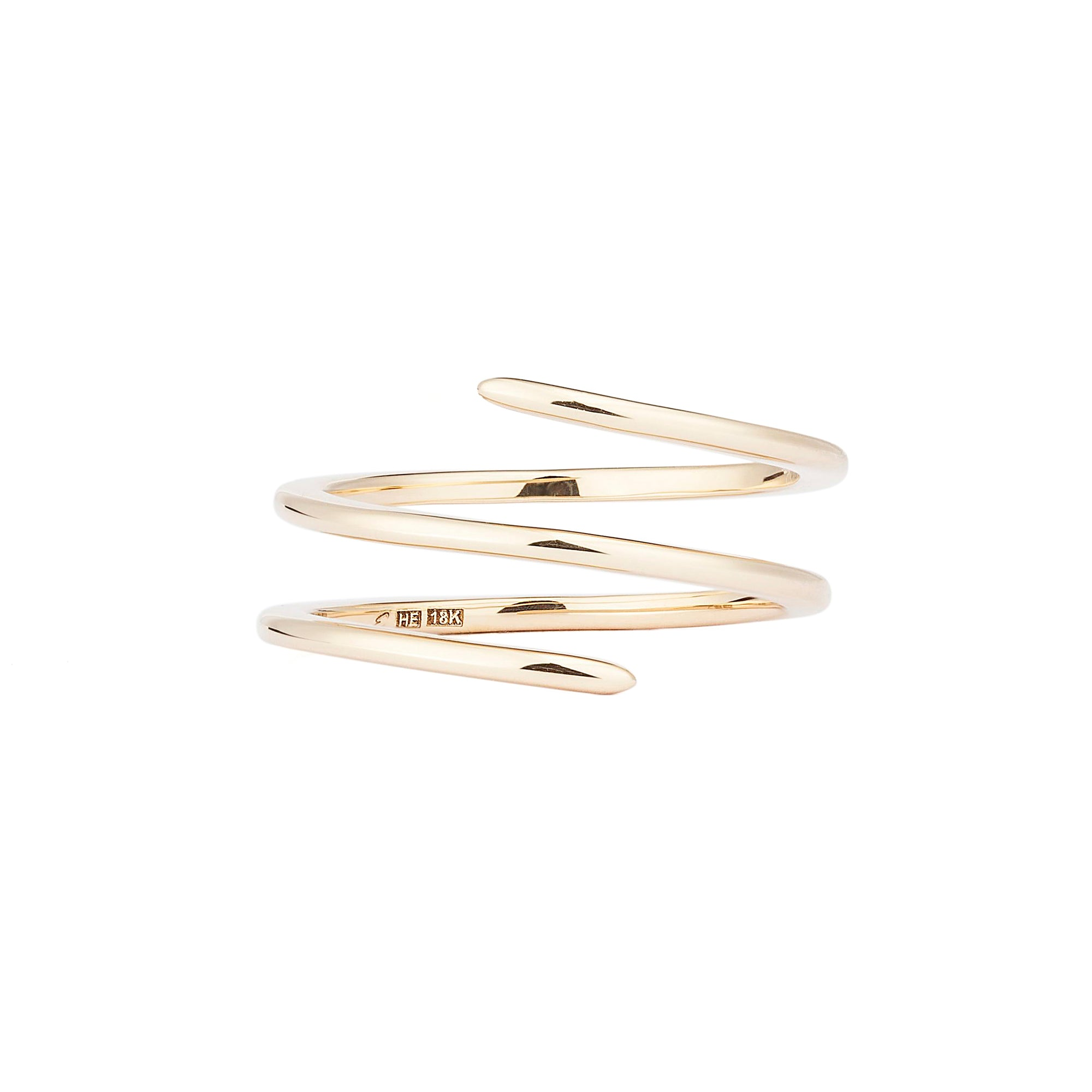 Yellow Double Spin Ring - Engelbert - Rings | Broken English Jewelry