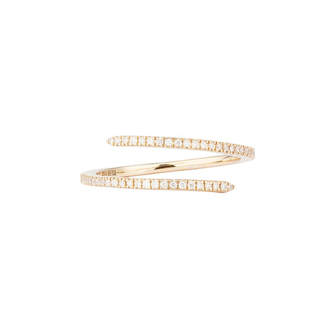 Diamond Yellow Spin Ring - Engelbert - Rings | Broken English Jewelry