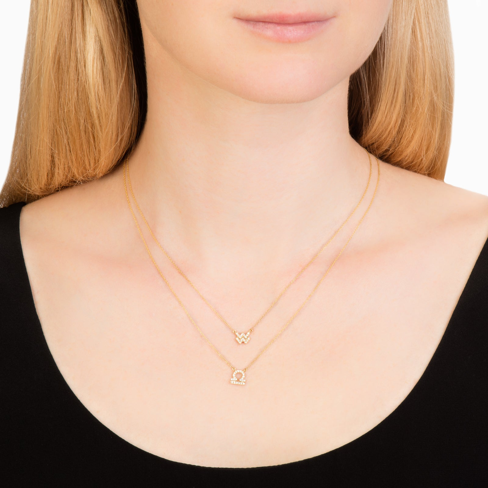 Petit Pisces Necklace - Engelbert - Necklaces | Broken English Jewelry