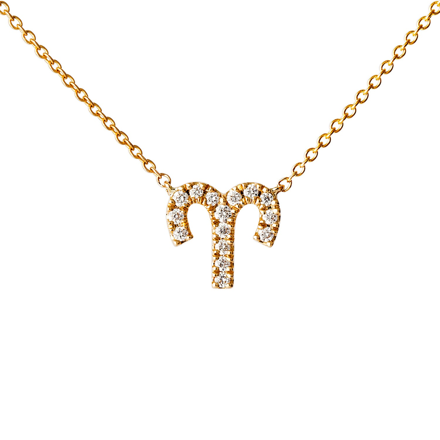 Petit Aries Necklace - Engelbert - Necklaces | Broken English Jewelry