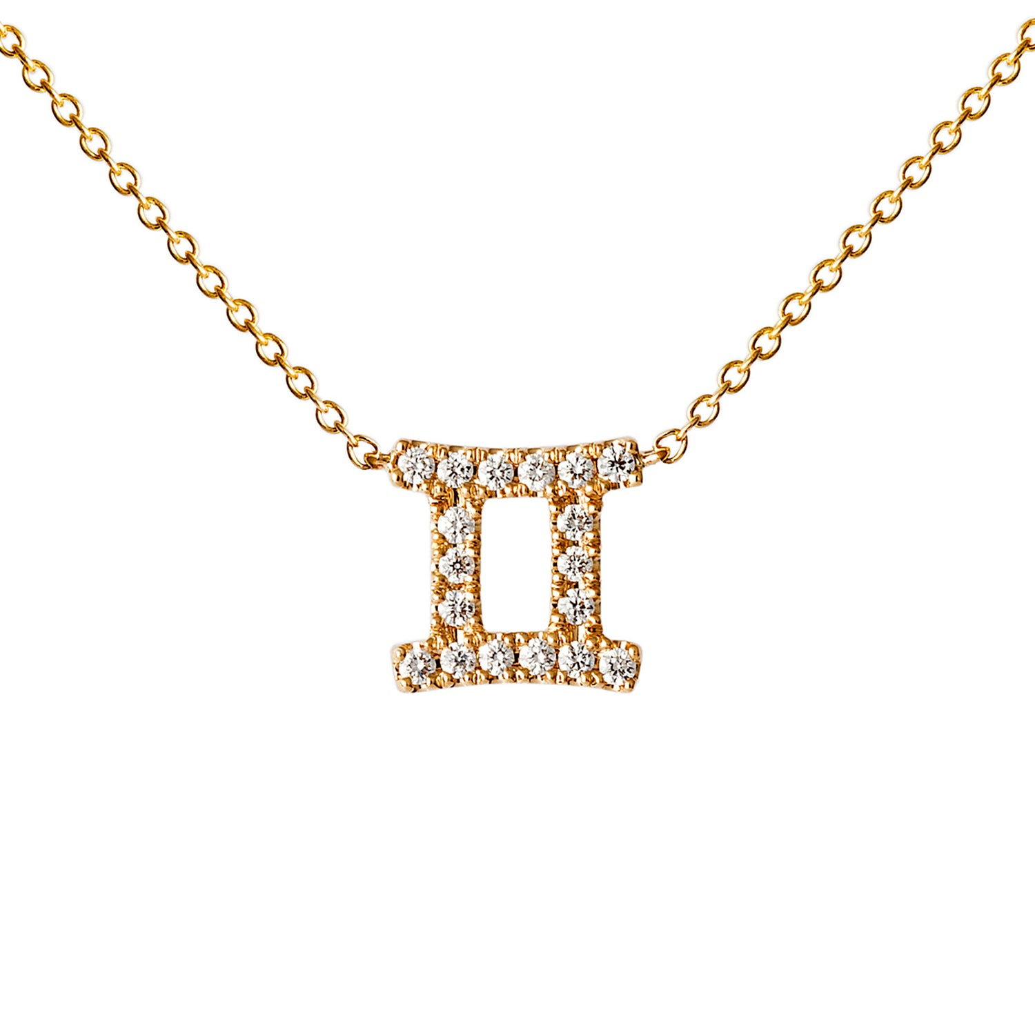 Petit Gemini Necklace - Engelbert - Necklaces | Broken English Jewelry