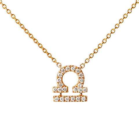 Petit Libra Necklace - Engelbert - Necklaces | Broken English Jewelry
