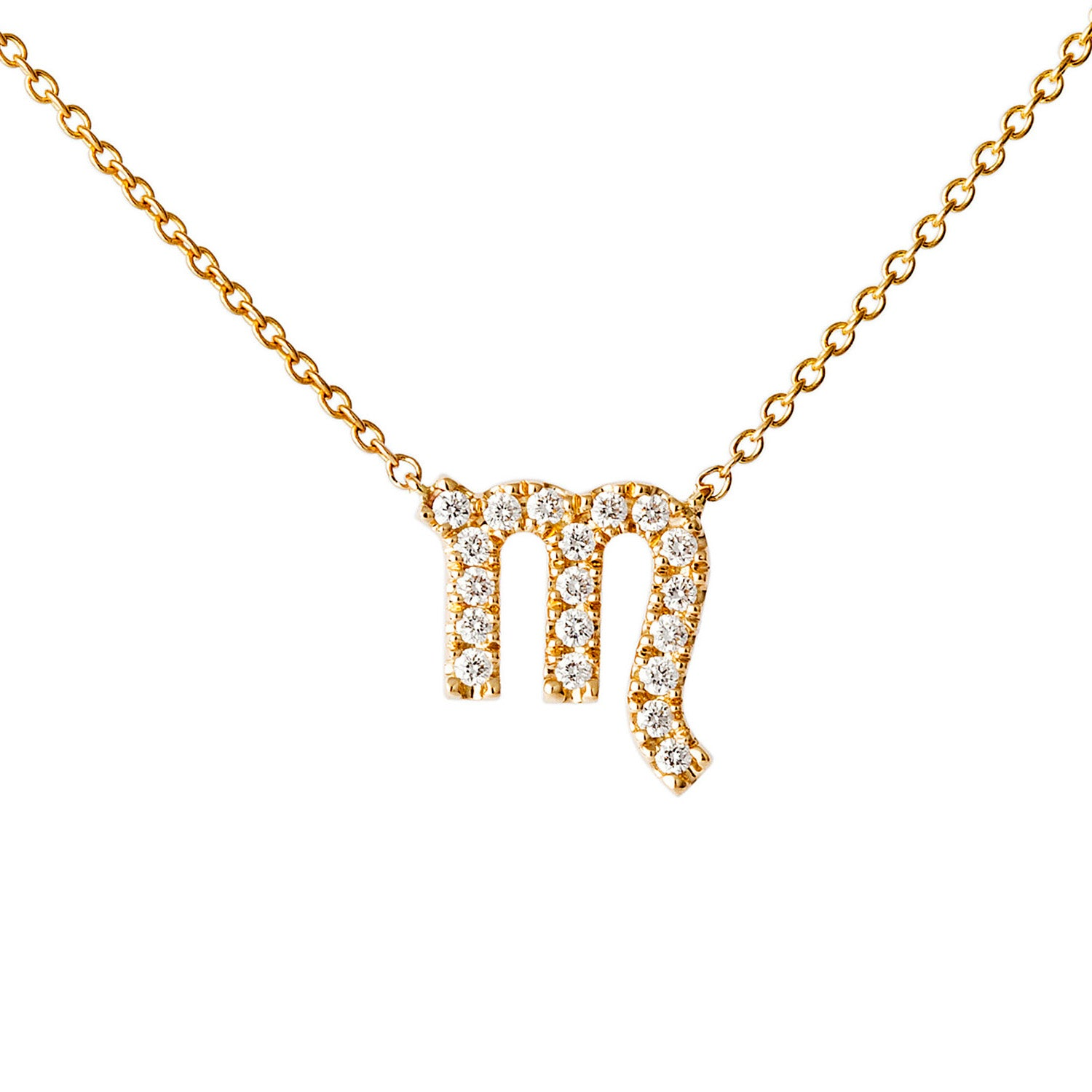 Petit Scorpio Necklace - Engelbert - Necklaces | Broken English Jewelry