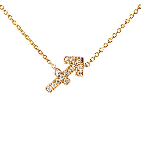 Petit Sagittarius Necklace - Engelbert - Necklaces | Broken English Jewelry