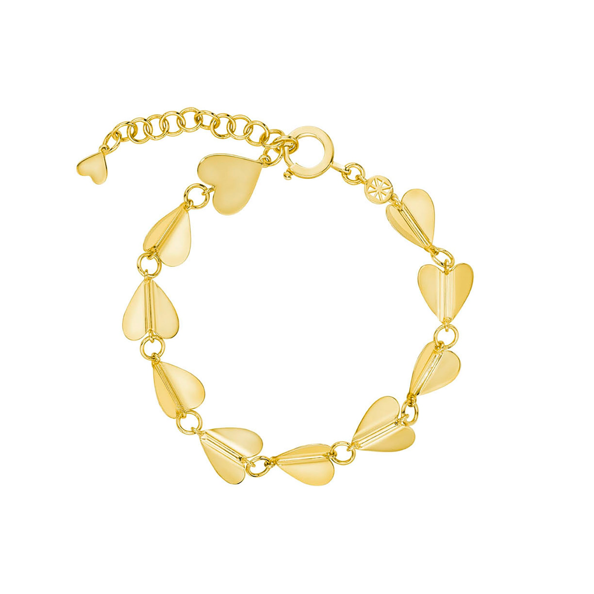 Cadar Wings of Love Bracelet - Gold (M) - Bracelets - Broken English Jewelry