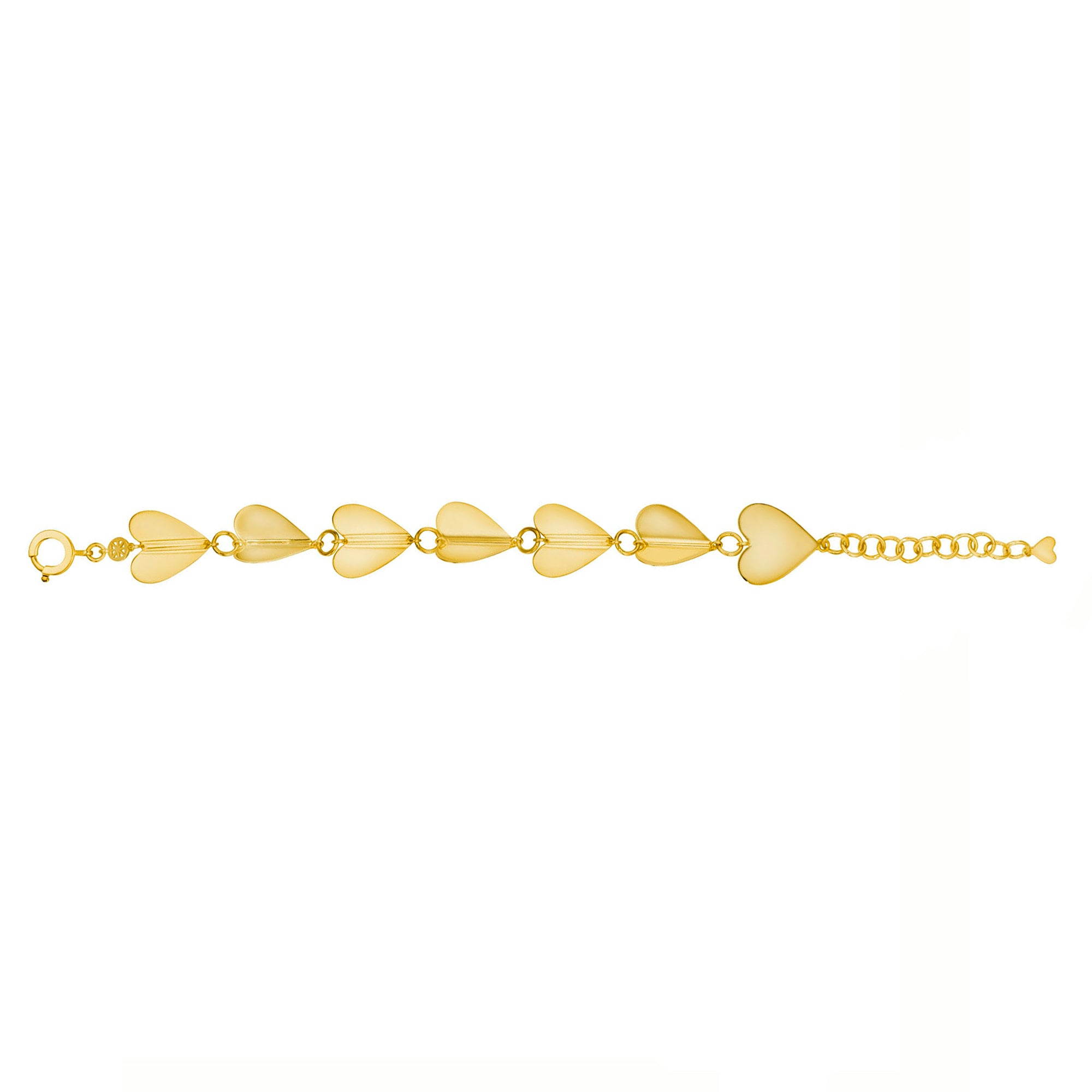 Cadar Wings of Love Bracelet - Gold (L) - Bracelets - Broken English Jewelry