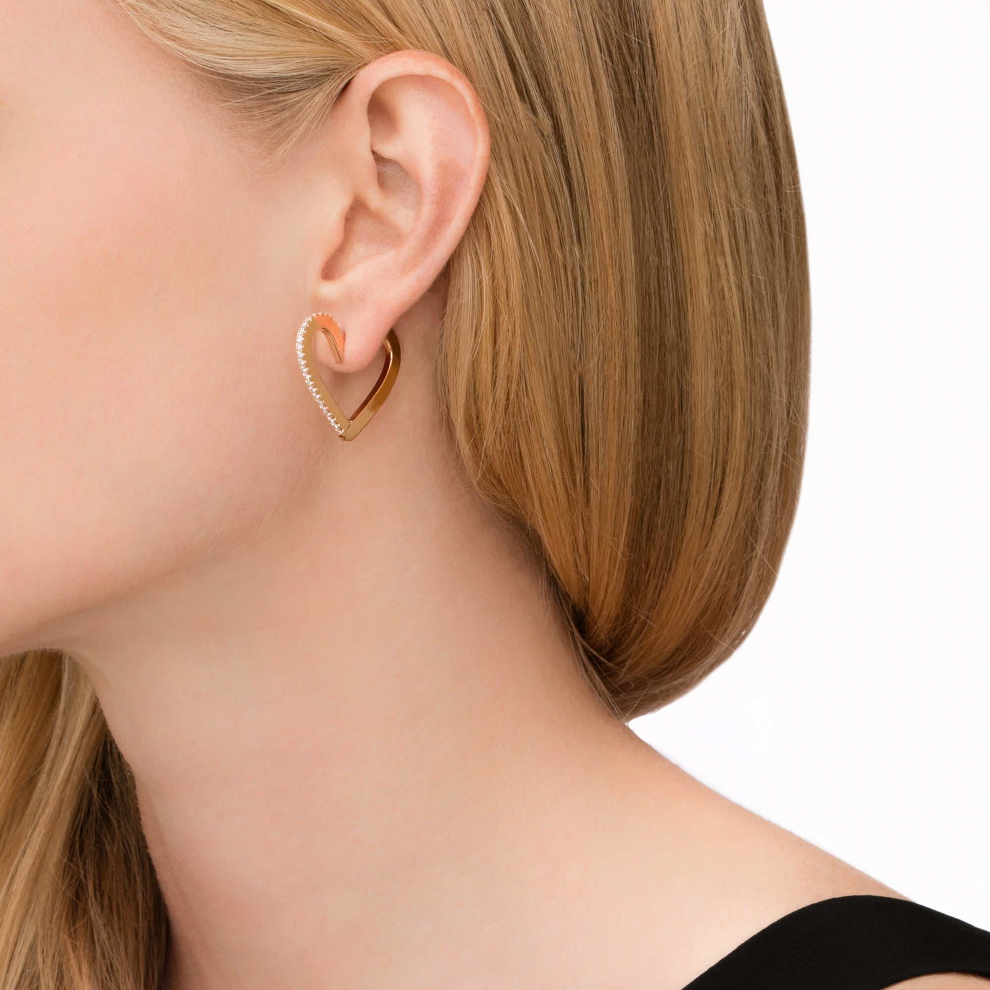 Medium Endless Hoop Earrings - Cadar - Earrings | Broken English Jewelry