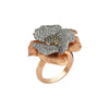 Aida Bergsen Large Flora Ring - Diamond - Rings - Broken English Jewelry