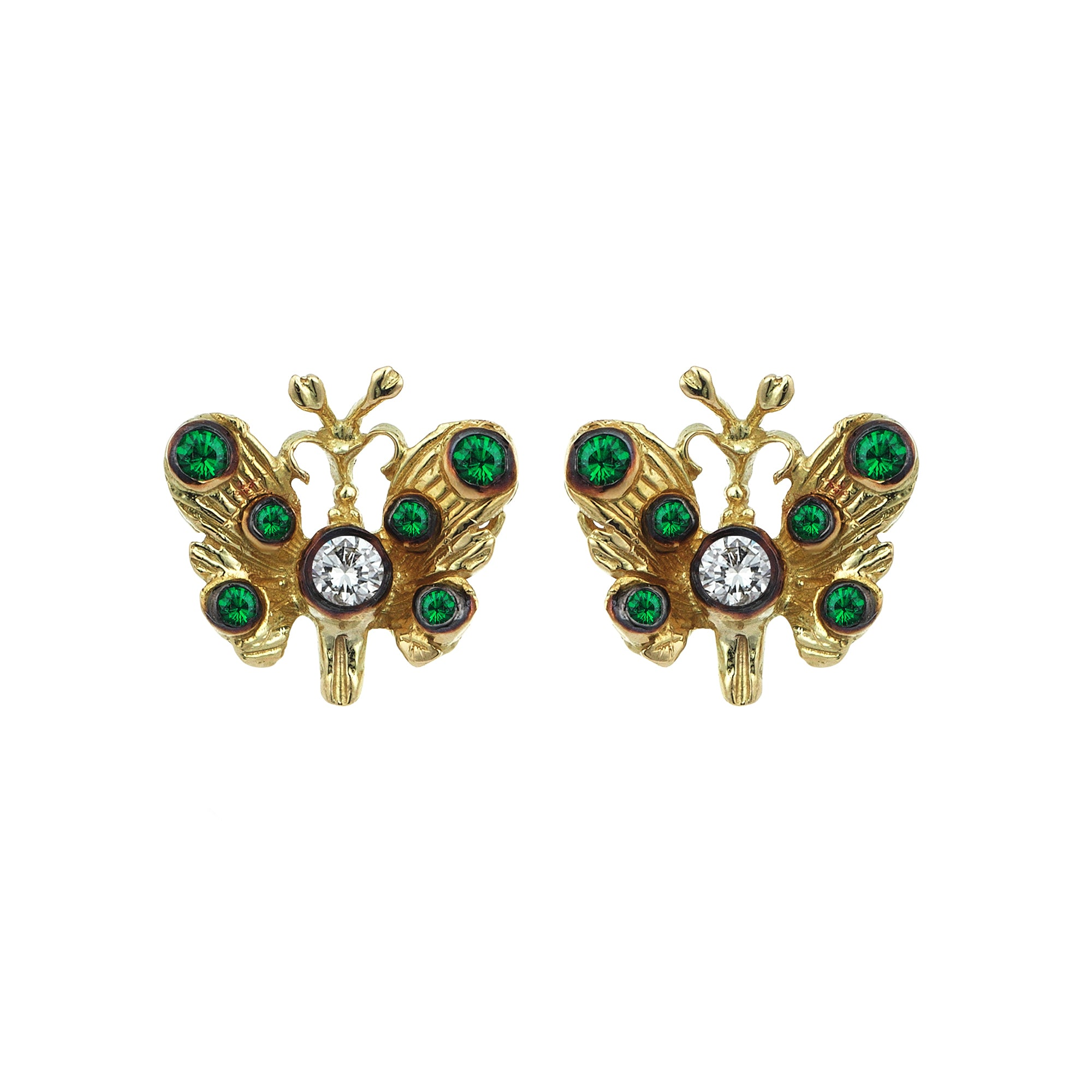 Butterfly Studs - Aida Bergsen - Earrings | Broken English Jewelry