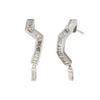 White Gold and Diamond Origmai Earrings  - Kavant & Sharart  - Earrings | Broken English Jewelry