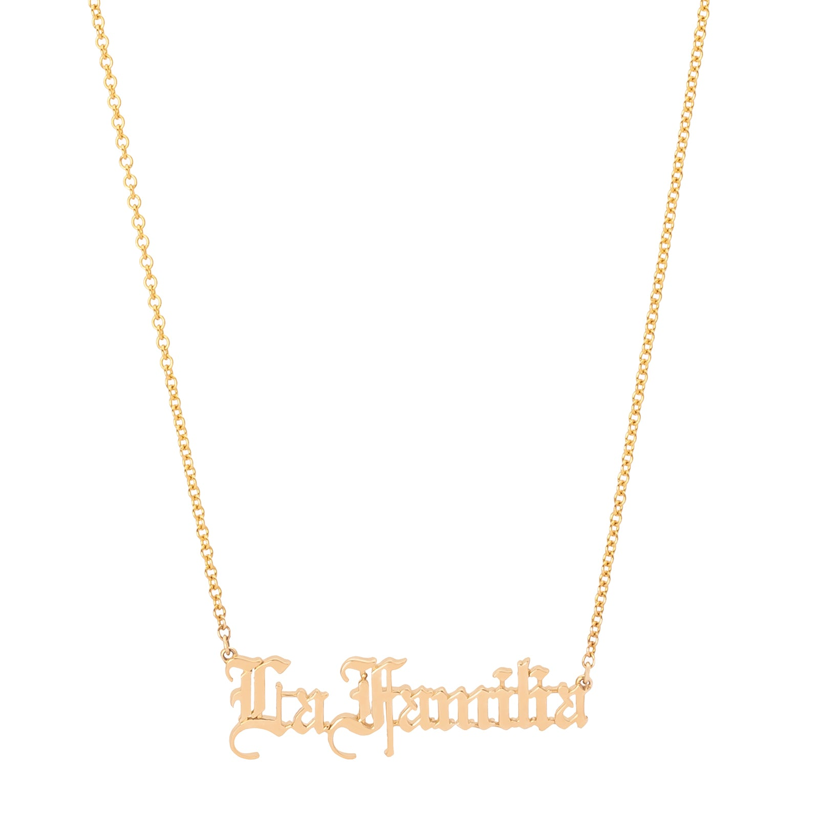 Established Jewelry La Familia Necklace - Necklaces - Broken English Jewelry