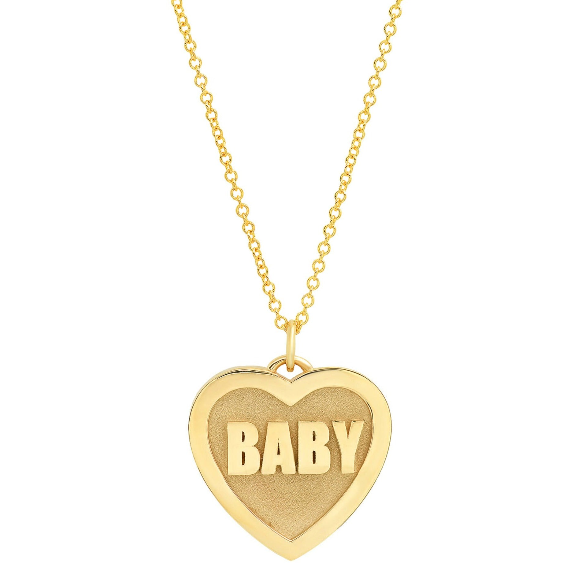 Established Jewelry Baby Heart Pendant Necklace - Necklaces - Broken English Jewelry