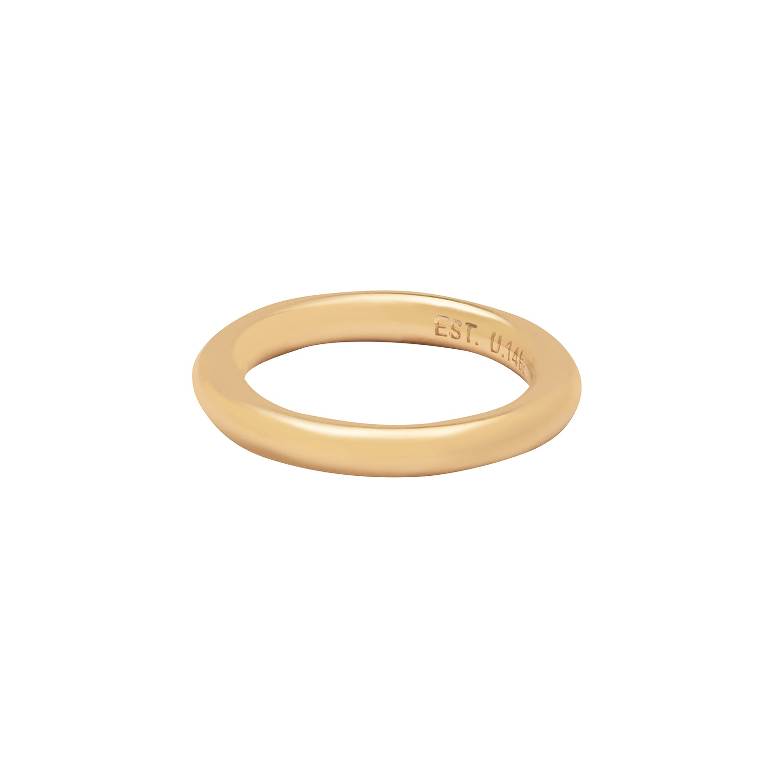 Established Jewelry 3-Piece Band Ring - Rings - Broken English Jewelry