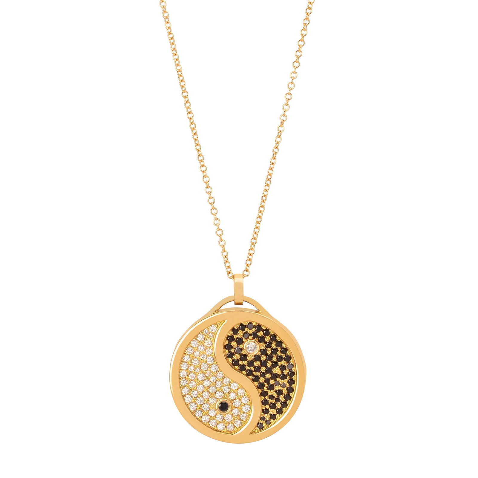 Established Jewelry Yin Yang Pendant Necklace - Necklaces - Broken English Jewelry