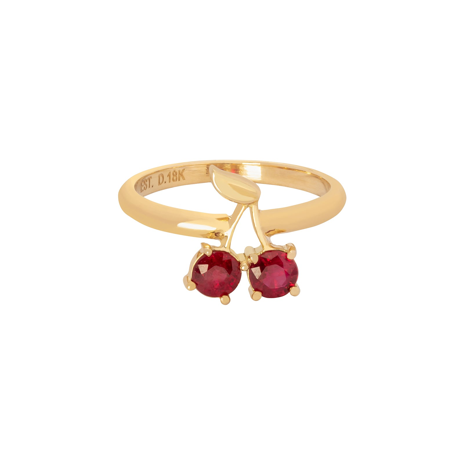Established Jewelry Cherry Ruby Ring - Rings - Broken English Jewelry