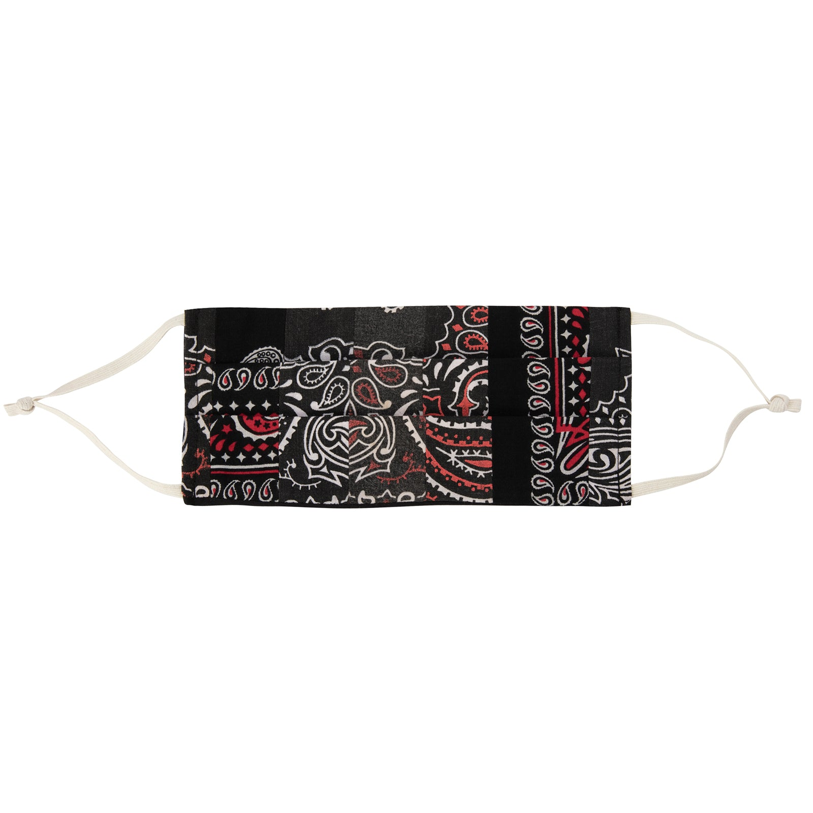 Fraction LA Bandana Face Mask - Black - Accessories - Broken English Jewelry