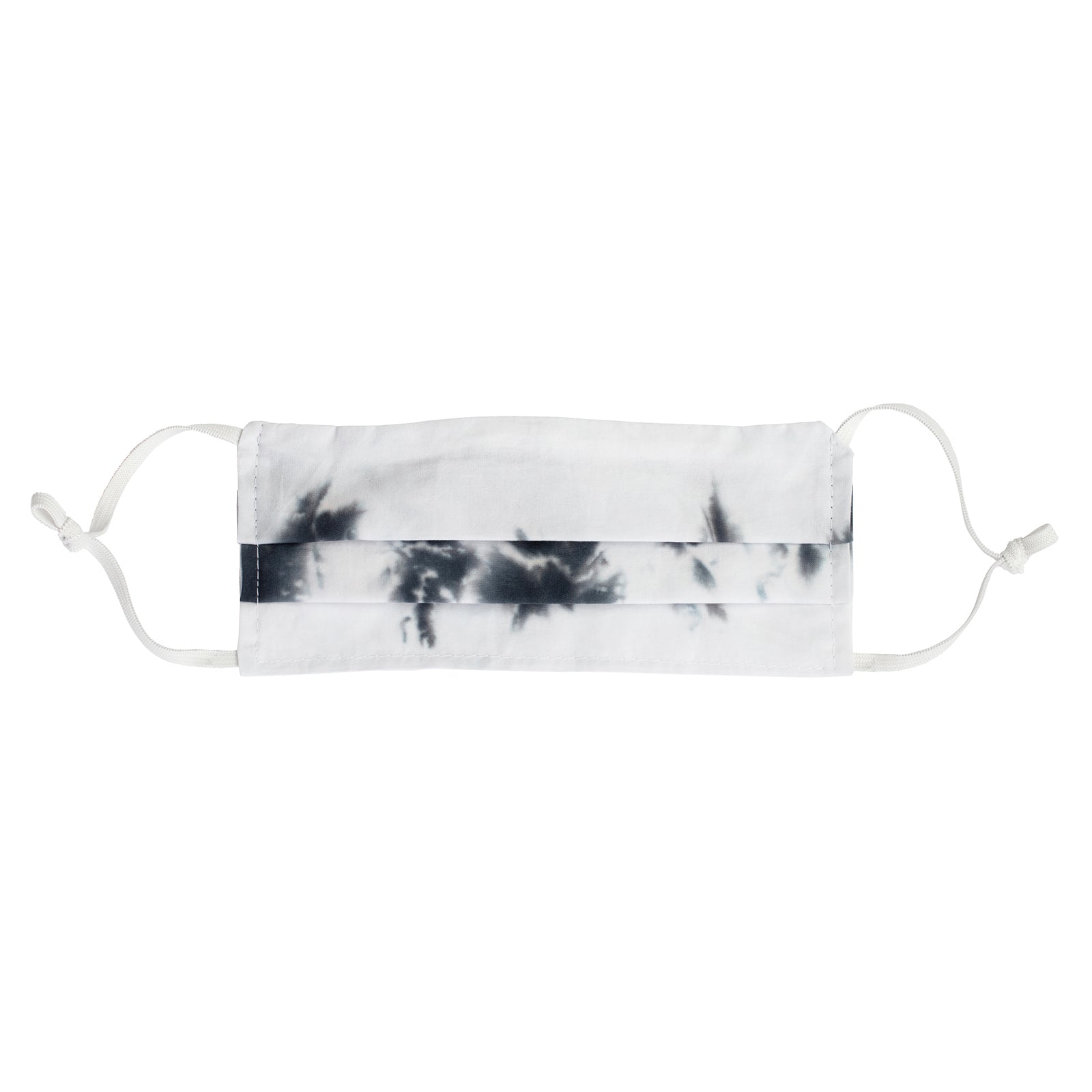 Fraction LA Tie Dye Face Mask - Black & White - Accessories - Broken English Jewelry