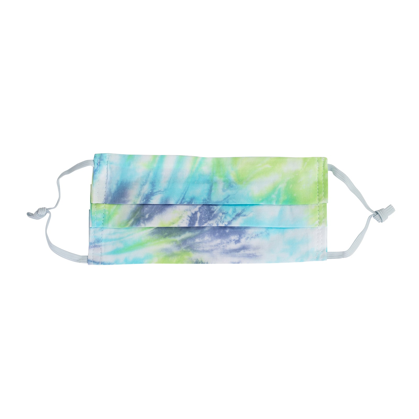 Fraction LA Tie Dye Face Mask - Navy, Turquoise & Emerald - Accessories - Broken English Jewelry