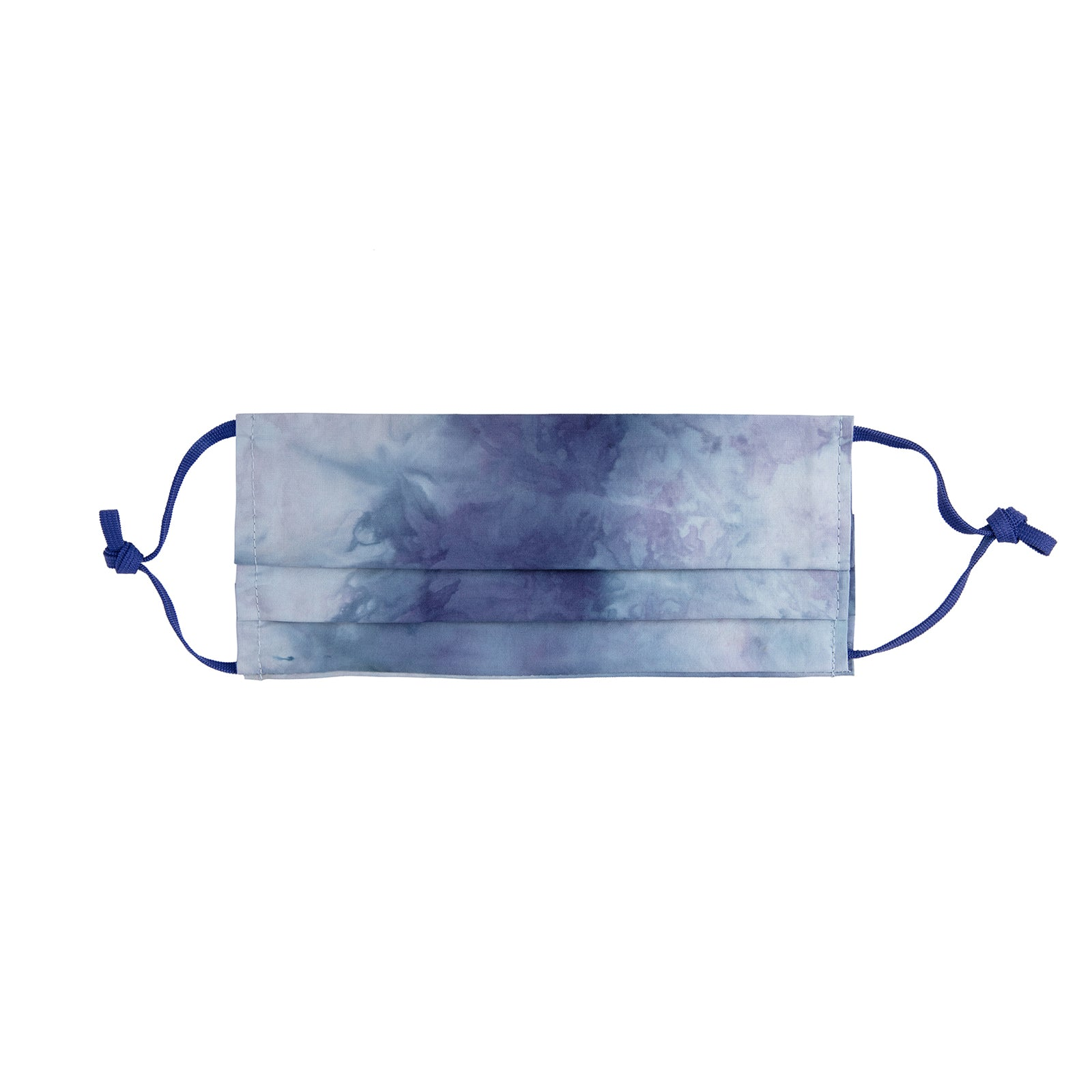 Fraction LA Tie Dye Face Mask - Royal Blue - Accessories - Broken English Jewelry