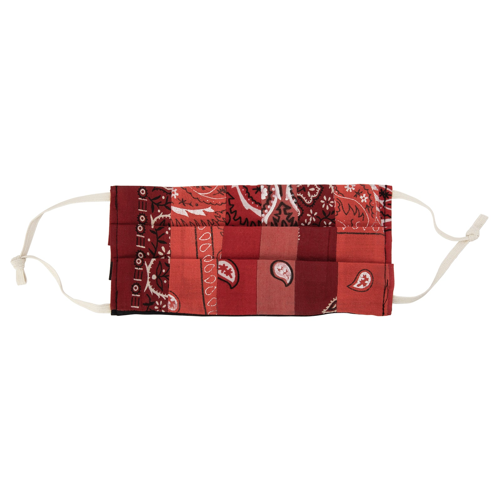 Fraction LA Bandana Face Mask - Red - Accessories - Broken English Jewelry