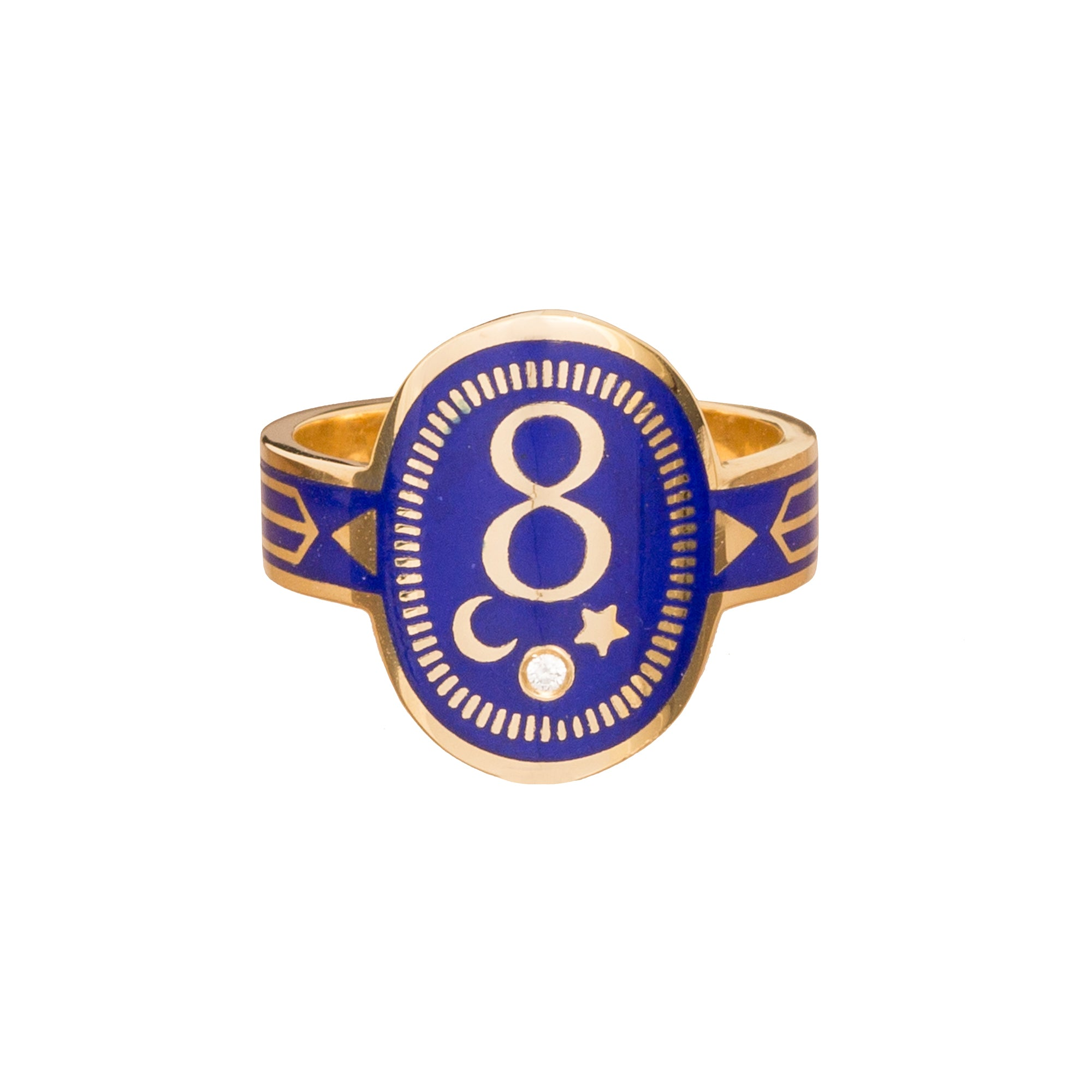 Karma Cigar Band by Foundrae for Broken English Jewelry