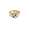 Engravable Blossoms Ring