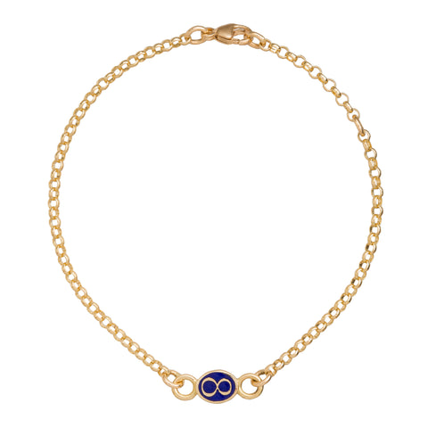 Karma Infinity Bracelet - Foundrae - Bracelet | Broken English Jewelry