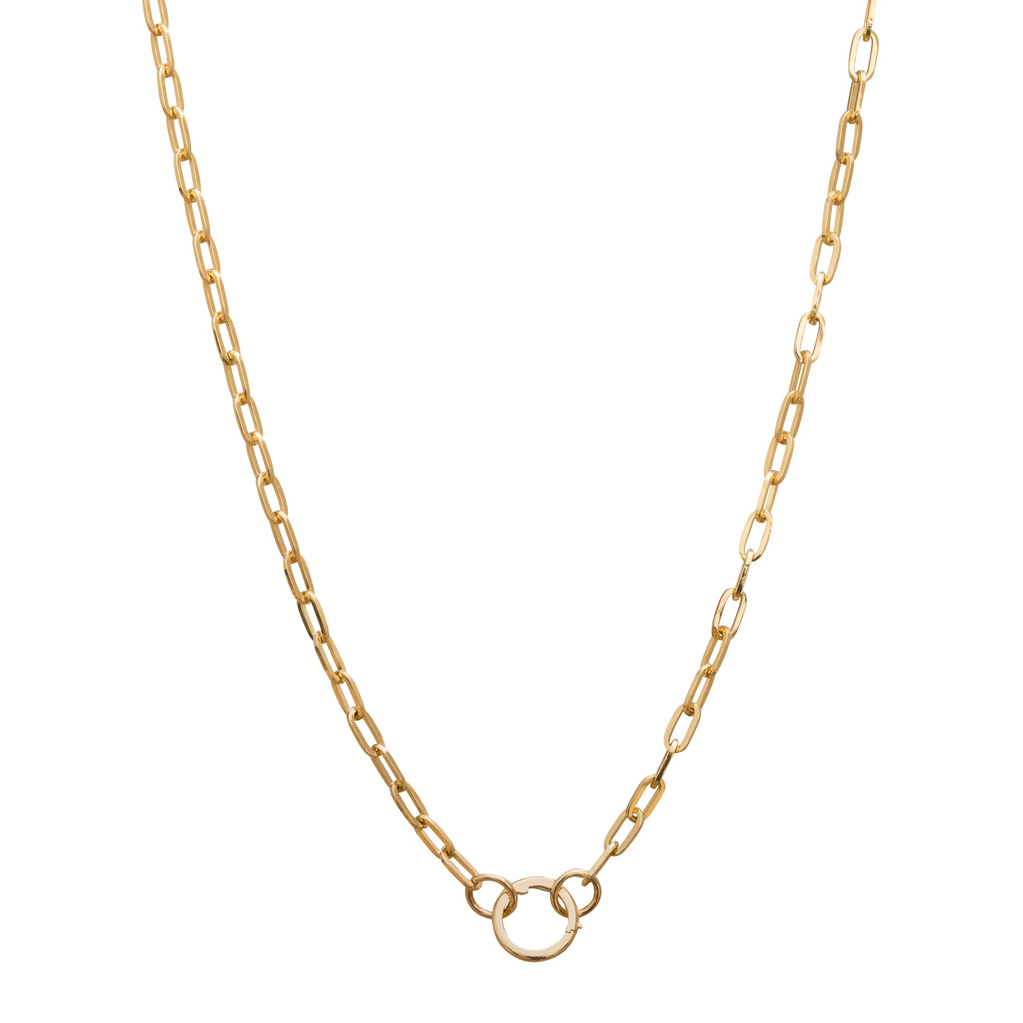 Refined Clip Chain by Foundrae for Broken English Jewelry