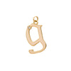 Letter G Charm by Foundrae for Broken English Jewelry
