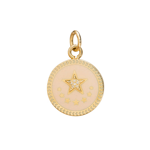 Star Medallion by Foundrae for Broken English Jewelry