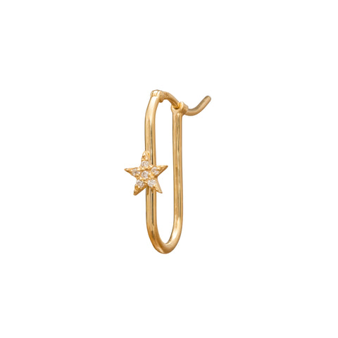 Star FOB Earring by Foundrae for Broken English Jewelry