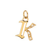 Foundrae K Charm - Charms & Pendants - Broken English Jewelry