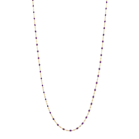 "24"" Gold & Resin Chain Necklace by Gigi Clozeau for Broken English Jewelry"