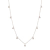 Carla Amorim Vapor Necklace - White Gold - Necklaces - Broken English Jewelry