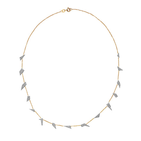 Scattered Shards Necklace - Swati Dhanak - Necklace | Broken English Jewelry