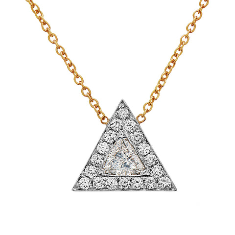 Triangle Shard Necklace  - Swati Dhanak - Necklace | Broken English Jewelry