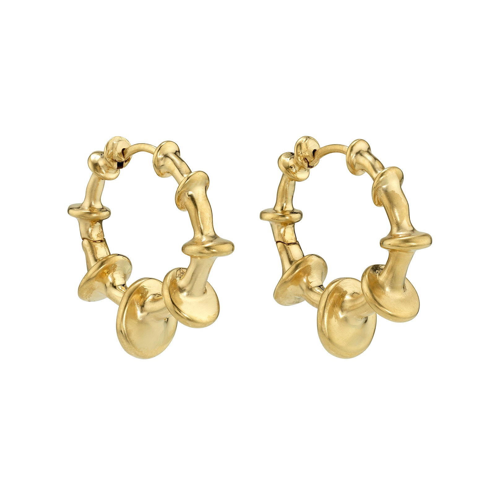 VRAM Chrona Hoops - Earrings - Broken English Jewelry