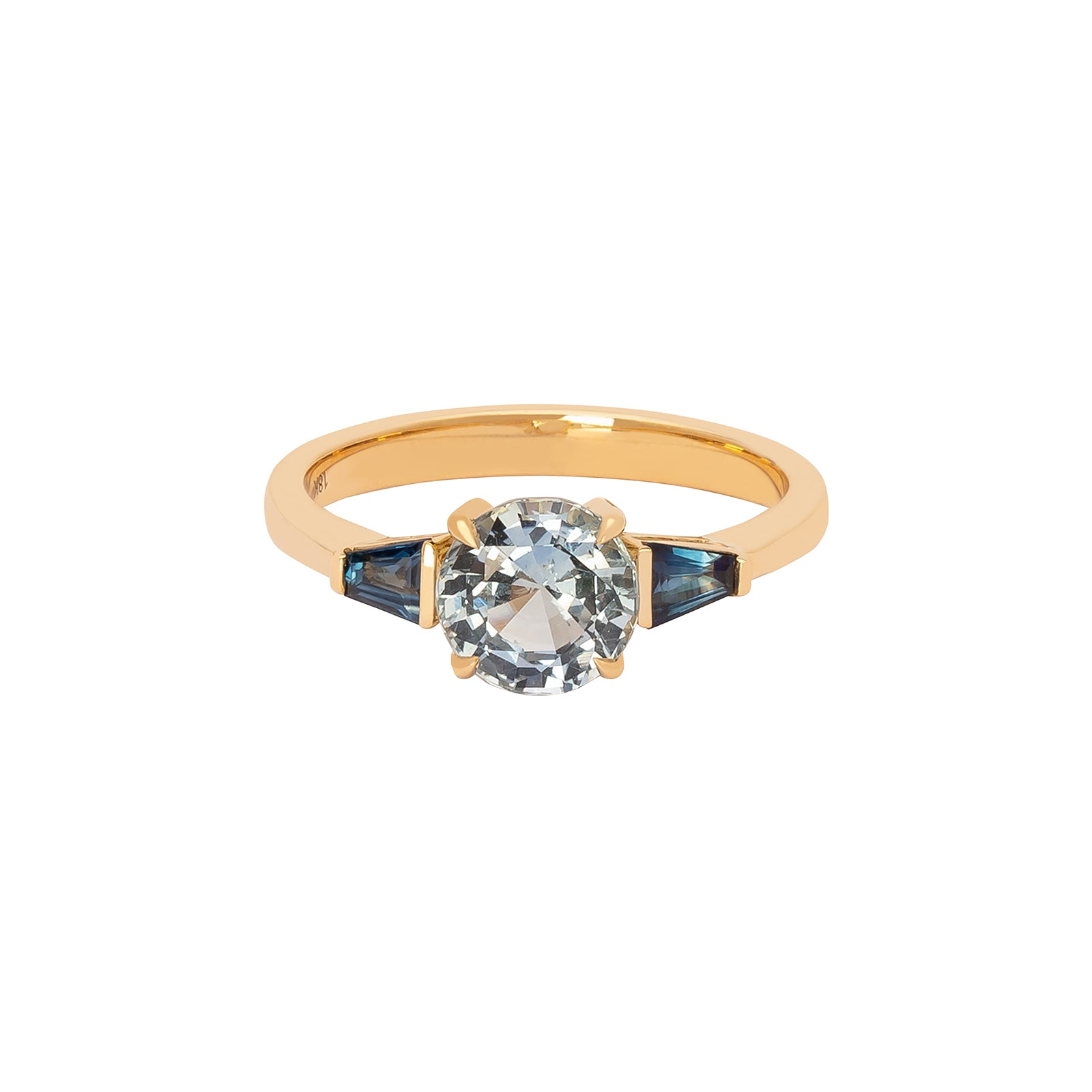 YI Collection Star Light Ring - Sapphire - Rings - Broken English Jewelry